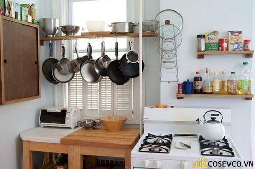 Trang trí nhà bếp bằng kệ để đồ nhỏ gọn - M8