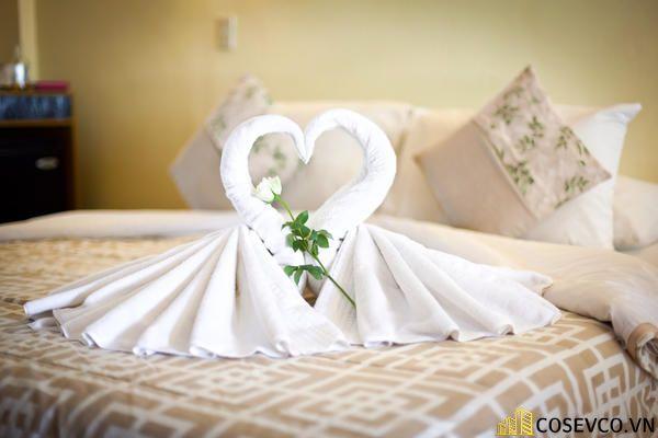 Trang trí nội thất phòng cưới đơn giản ấm áp nhất - M7