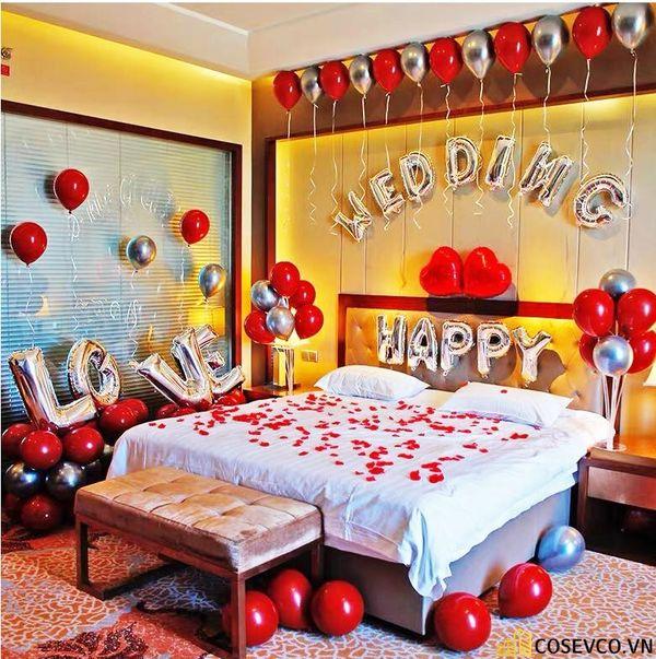 Trang trí nội thất phòng cưới đơn giản ấm áp nhất - M4