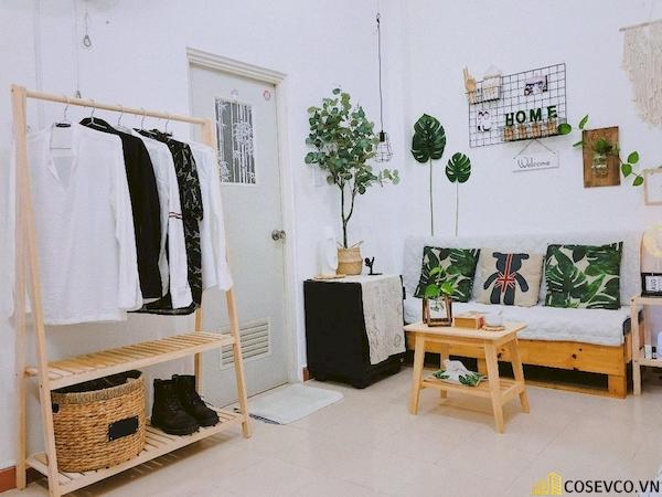 Giá treo quần áo chữ A 2 tầng