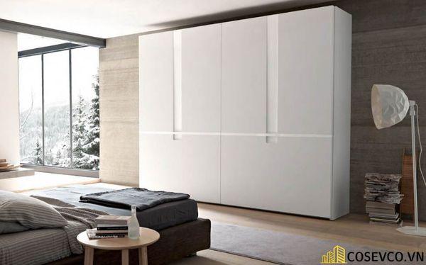 Mẫu tủ áo quần dành riêng cho những căn phòng có diện tích lớn - Mẫu 1