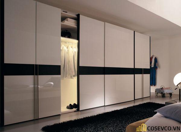 Mẫu tủ áo quần dành riêng cho những căn phòng có diện tích lớn - Mẫu 4