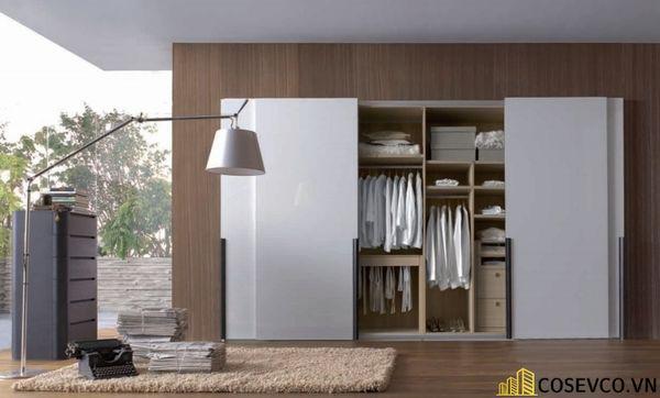 Mẫu tủ áo quần dành riêng cho những căn phòng có diện tích lớn - Mẫu 6