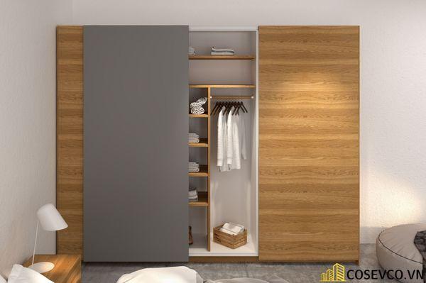 Mẫu tủ áo quần dành riêng cho những căn phòng có diện tích lớn - Mẫu 8
