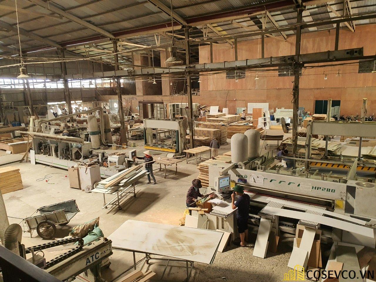 Xưởng sản xuất nội thất công ty Cosevco - View 3