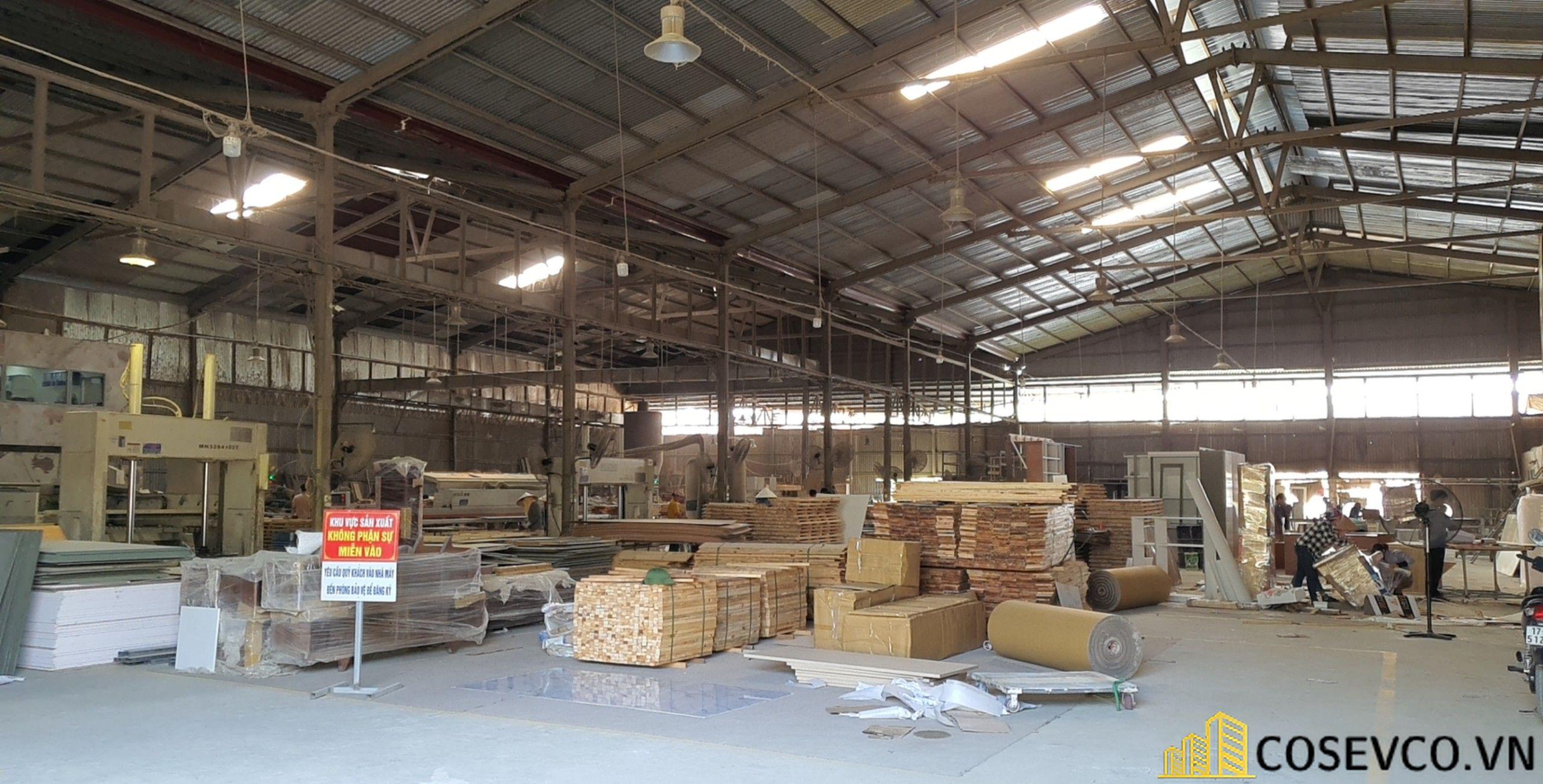 Xưởng sản xuất nội thất công ty Cosevco - View 2