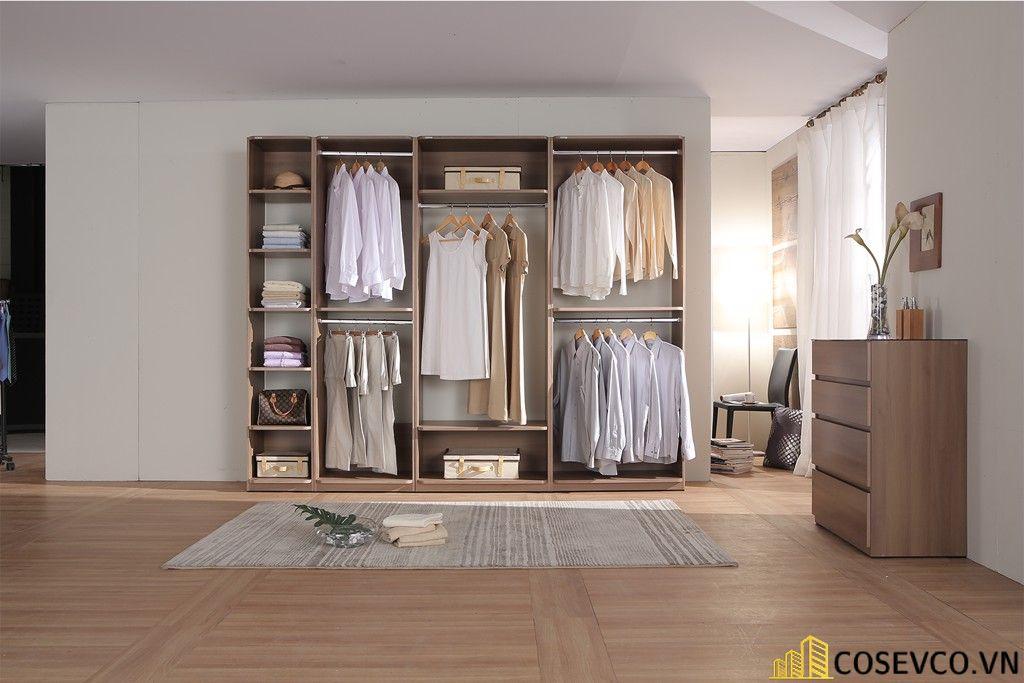 Mẫu tủ quần áo gỗ công nghiệp 1m2 là lựa chọn tối ưu dành cho những căn phòng có diện tích hạn chế