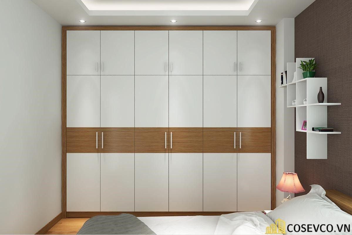 Tủ quần áo 4 cánh gỗ công nghiệp hay tủ quần áo 4 buồng gỗ công nghiệp mang lại ưu điểm nổi trội - Mẫu 1