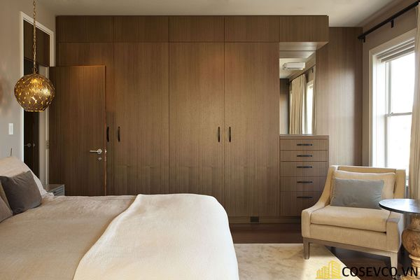 Những chiếc tủ quần áo thông minh giúp không gian gọn gàng và hữu dụng hơn