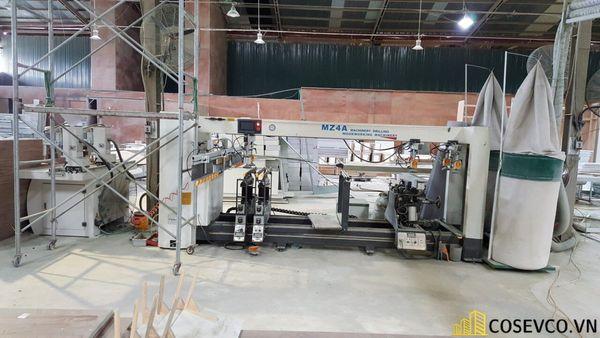 Xưởng sản xuất đồ gỗ nội thất Cosevco tọa lạc tại Hà Nội - View 1