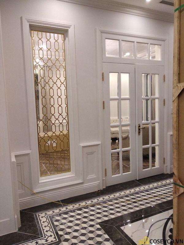 Sản xuất - lắp đặt hoàn thiện nội thất biệt thự cao cấp - View 11