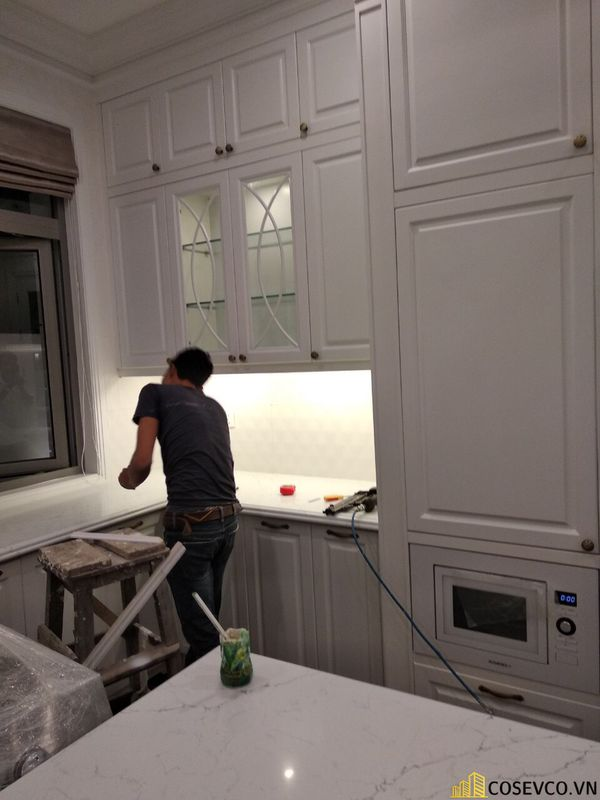 Sản xuất - lắp đặt hoàn thiện nội thất căn hộ cao cấp - View 4
