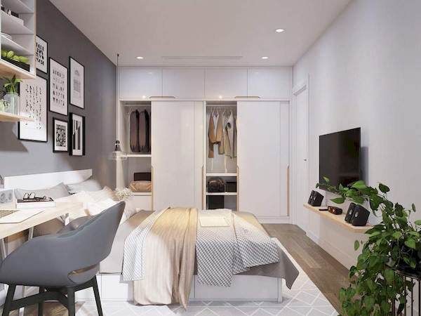 Phòng ngủ bố mẹ - View 3