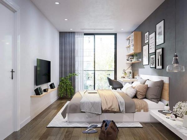 Phòng ngủ bố mẹ - View 2