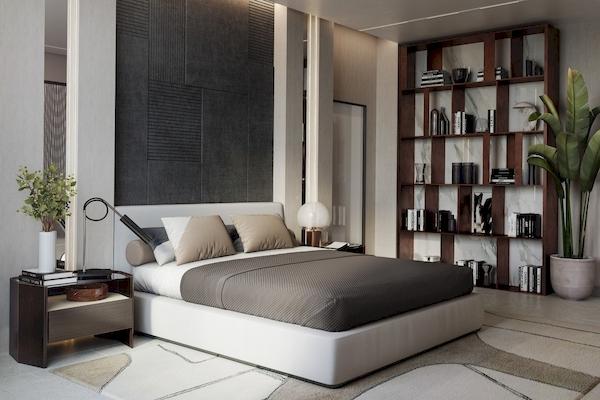 Phòng ngủ Master - View 3
