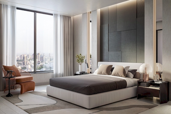 Phòng ngủ Master - View 2