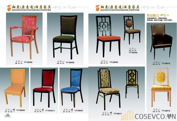 Mẫu bàn ghế nhà hàng sang trọng