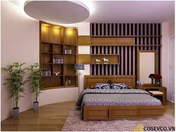 Bố trí nội thất phòng ngủ 20m2 sang trọng - M4