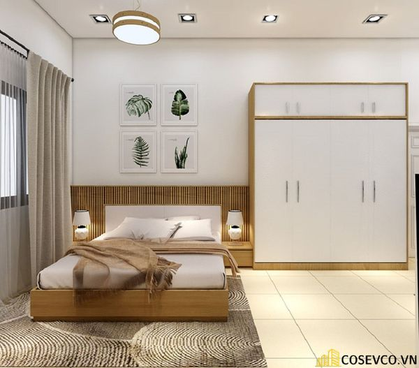 Cải tạo phòng ngủ diện tích 10m2 - M1