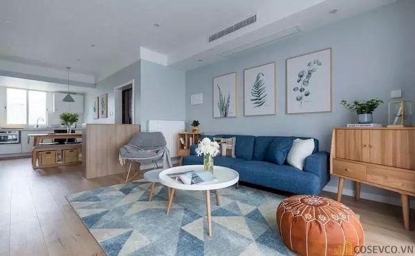 Phòng khách chung cư đẹp - Hình ảnh 17