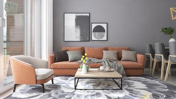 Phòng khách chung cư đẹp - Hình ảnh 19