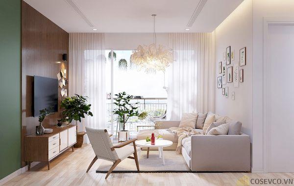 Phòng khách chung cư đẹp - Hình ảnh 20