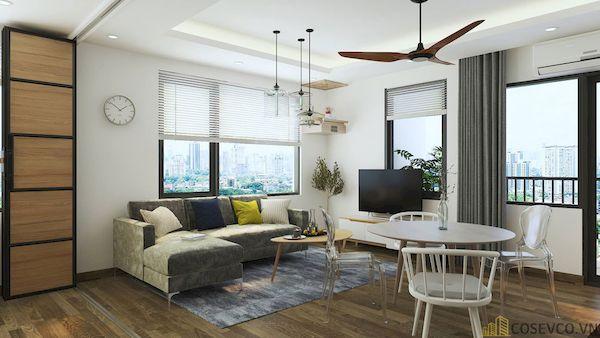 Phòng khách chung cư đẹp - Hình ảnh 21