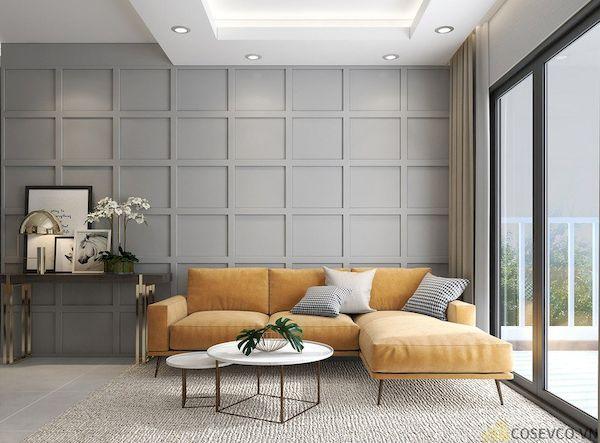 Phòng khách chung cư đẹp - Hình ảnh 24