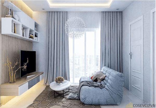 Phòng khách chung cư đẹp - Hình ảnh 28