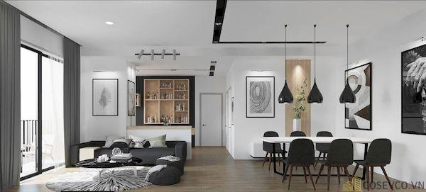 Phòng khách chung cư đẹp - Hình ảnh 30