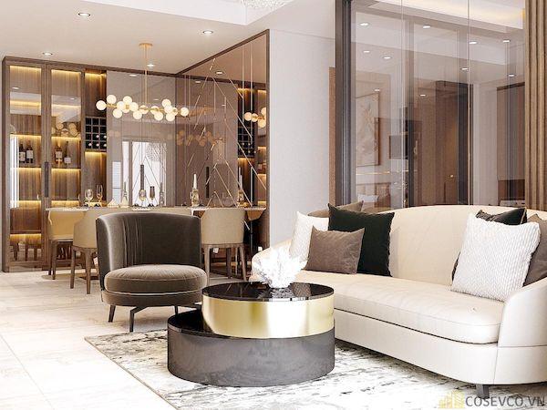Phòng khách chung cư đẹp - Hình ảnh 31