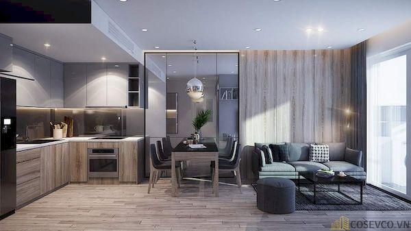Phòng khách chung cư đẹp - Hình ảnh 32