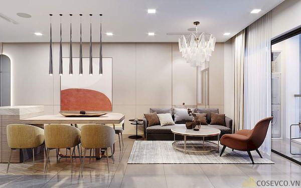 Phòng khách chung cư đẹp - Hình ảnh 33