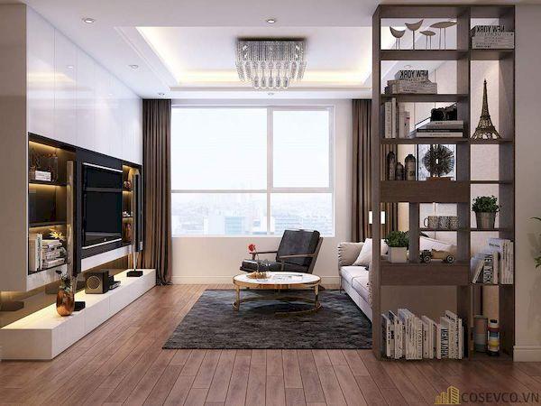 Phòng khách chung cư đẹp - Hình ảnh 5