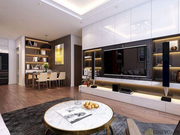 Phòng khách chung cư đẹp - Hình ảnh 6