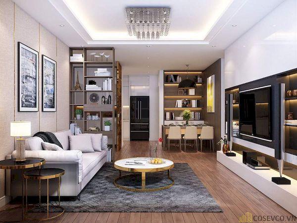 Phòng khách chung cư đẹp - Hình ảnh 7