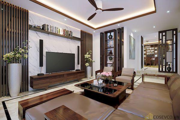 Phòng khách chung cư đẹp - Hình ảnh 8