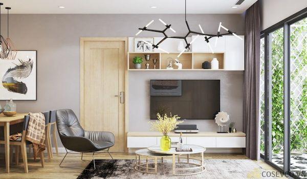 Phòng khách chung cư đẹp - Hình ảnh 9