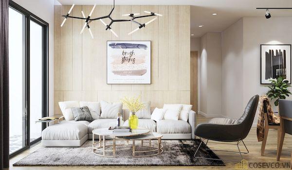 Phòng khách chung cư đẹp - Hình ảnh 10