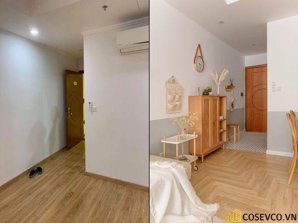 Mẫu thiết kế không gian căn hộ Studio 50m2 - View 7
