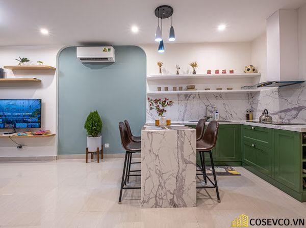 Thi công căn hộ Studio đẹp 2021