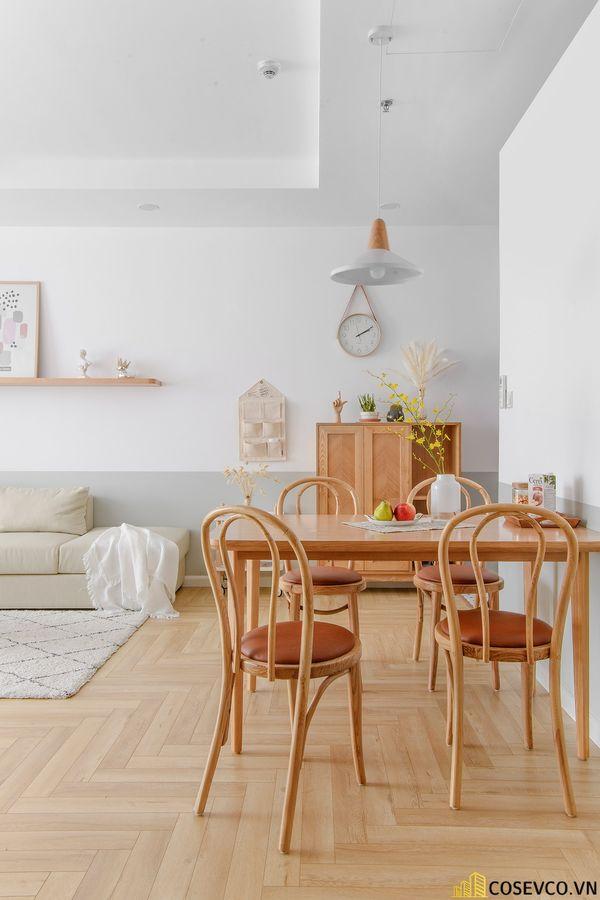 Mẫu thiết kế không gian căn hộ Studio 50m2 - View 1