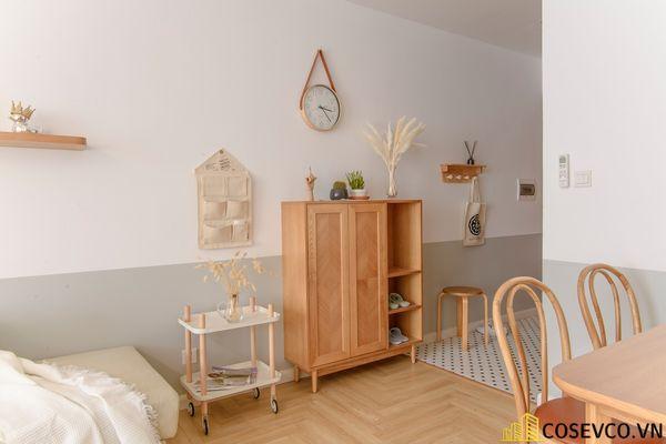 Mẫu thiết kế không gian căn hộ Studio 50m2 - View 6