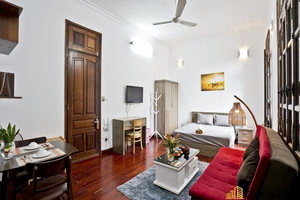 Thiết kế căn hộ Studio đẹp 25m2 - View 3