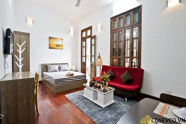 Thiết kế căn hộ Studio đẹp 25m2 - View 1