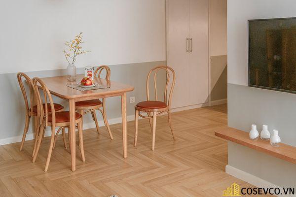 Mẫu thiết kế không gian căn hộ Studio 50m2 - View 3