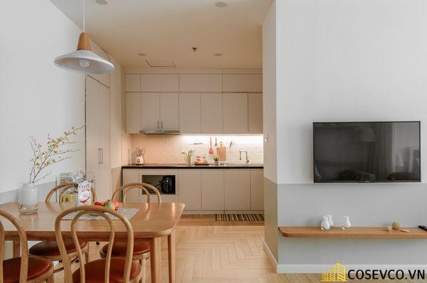 Mẫu thiết kế không gian căn hộ Studio 50m2 - View 2