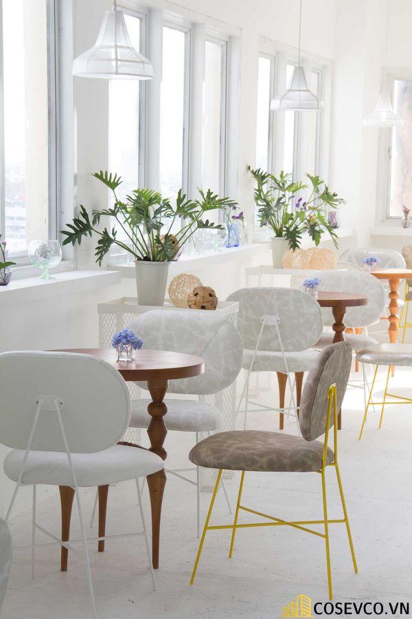 Mẫu thiết kế quán cafe văn phòng hiện đại tối giản - View 3