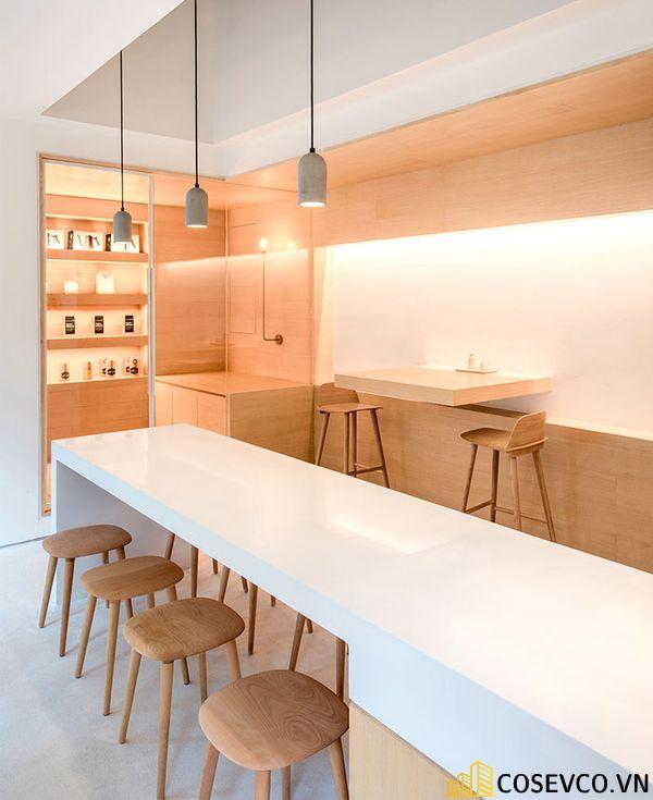 Mẫu thiết kế quán cafe văn phòng độc đáo - View 4