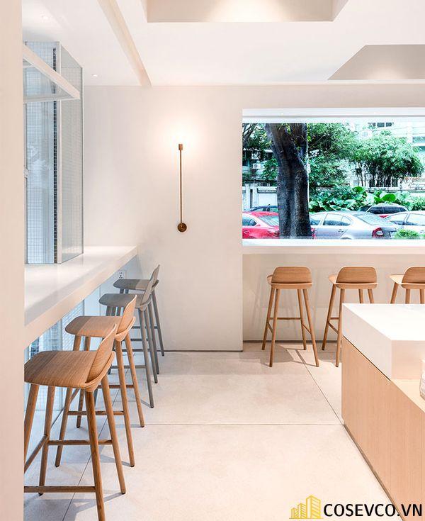 Mẫu thiết kế quán cafe văn phòng độc đáo - View 3